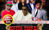 Macon Coliseum (Keith Sweat Flyer)