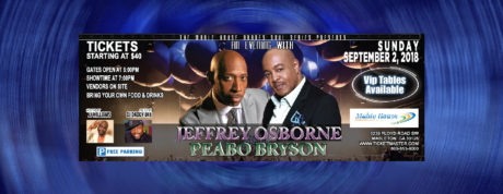 An Evening With Jeffrey Osborne And Peabo Bryson
