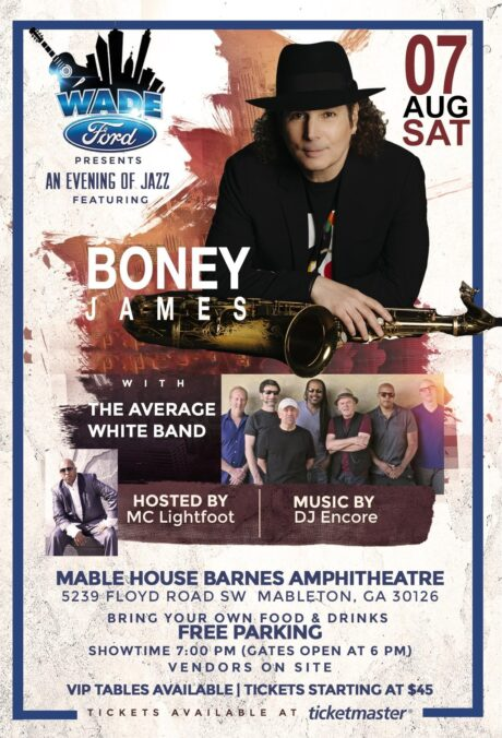Wade Ford Concert Series: Boney James With Average White Band