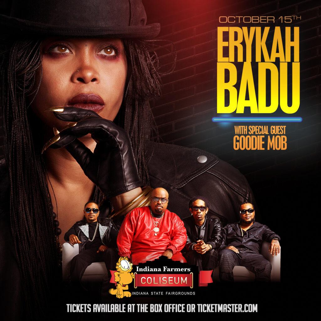 Erykah Badu - October 15