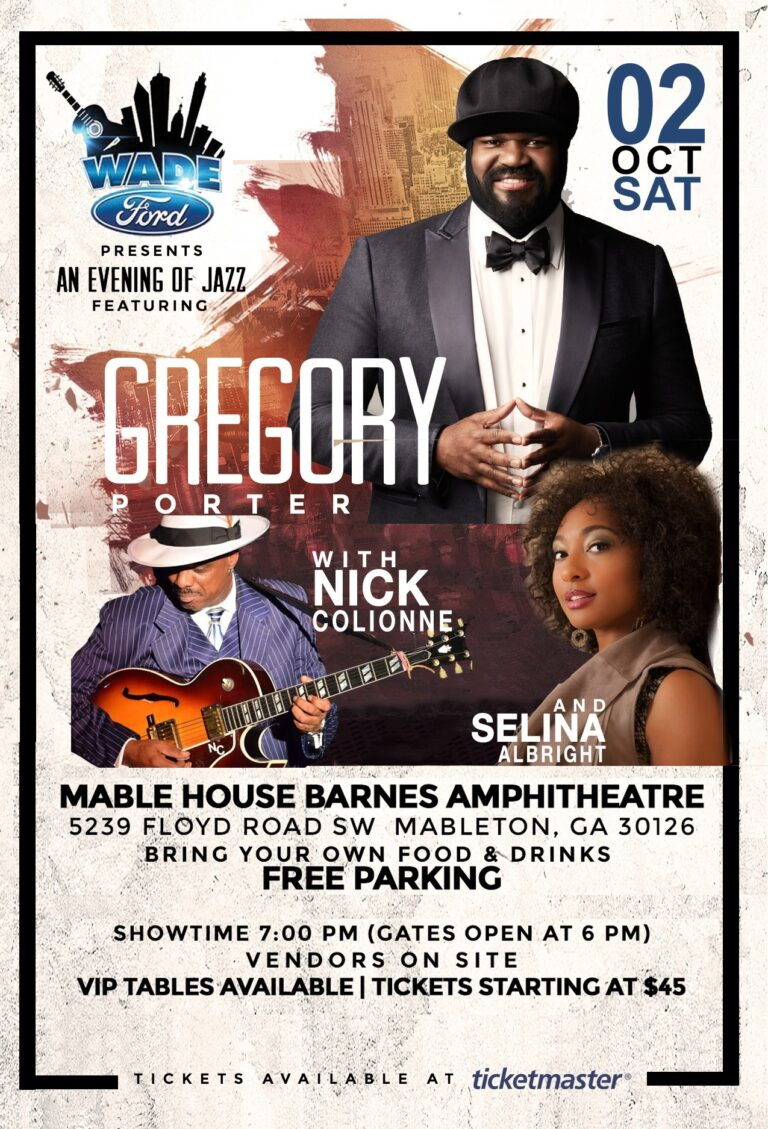 Gregory Porter with Nick Colionne & Selina Albright