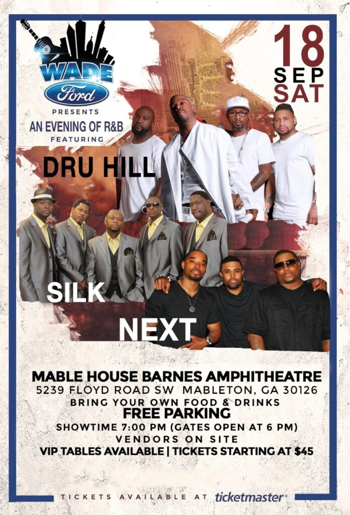 Wade Ford Concert Series: Dru Hill with Silk & Next