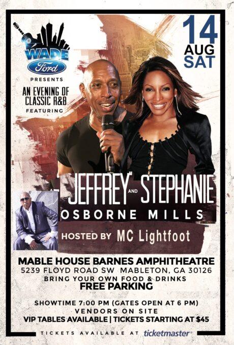 Wade Ford Concert Series: Jeffrey Osborne And Stephanie Mills