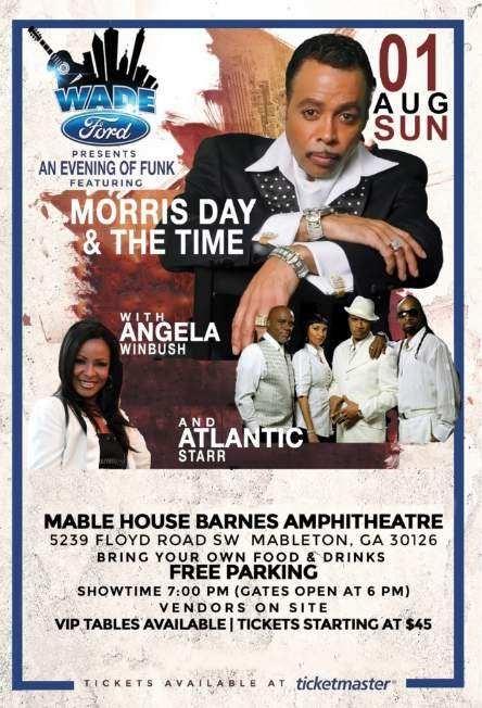 Wade Ford Concert Series: Morris Day w/Atlantic Starr & Angela Winbush