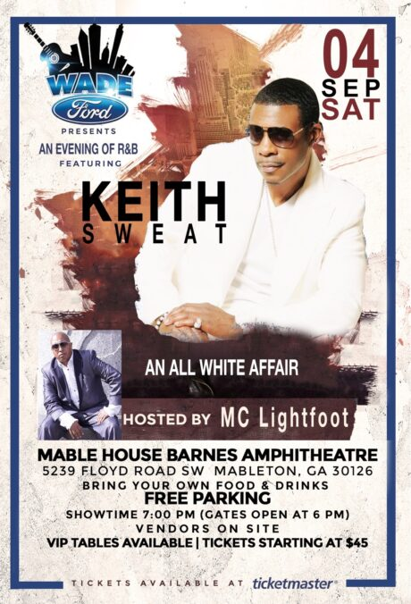 Wade Ford Concert Series: Keith Sweat