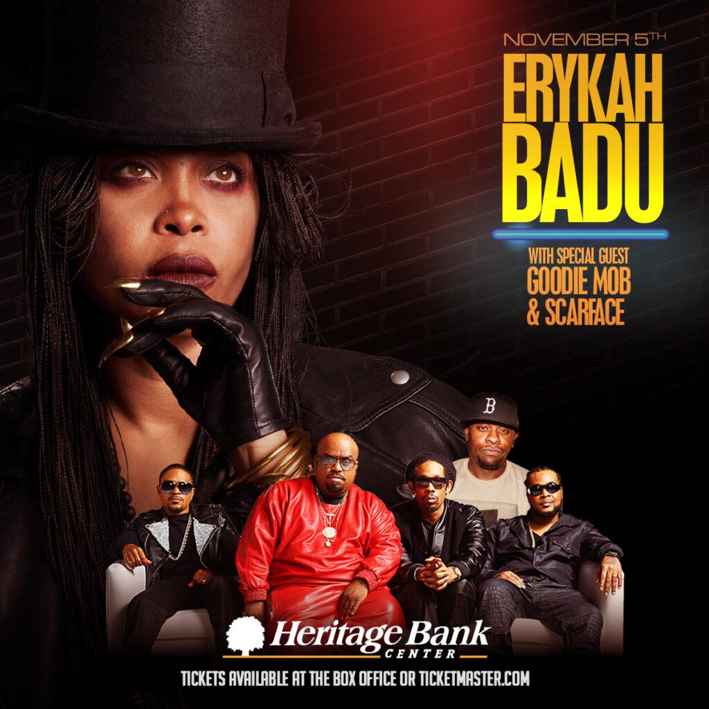 Erykah Badu with Goodie Mob & Scarface