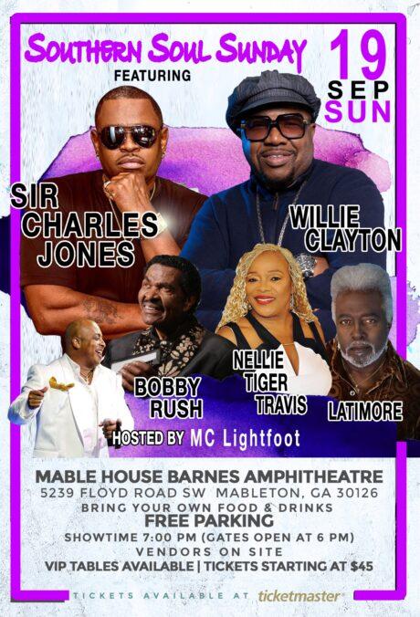 Southern Soul Sunday: Sir Charles Jones, Willie Clayton, Bobby Rush