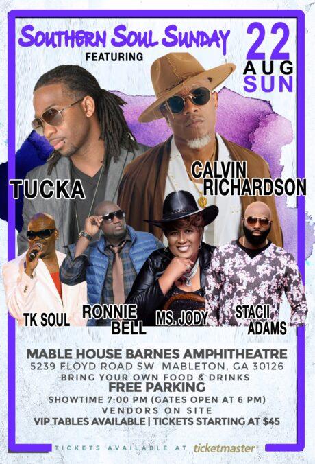 Southern Soul Sunday: Tucka, Calvin Richardson, T.K. Soul