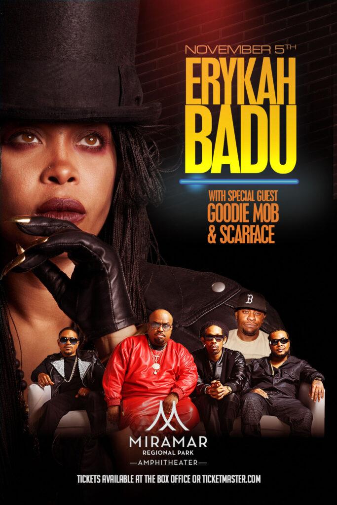 Erykah Badu with Goodie Mob